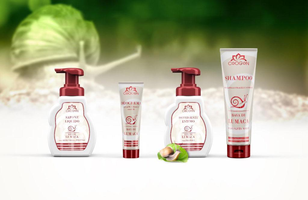 Crema viso corpo shampoo alla bava di lumaca anti righe anti brufoli