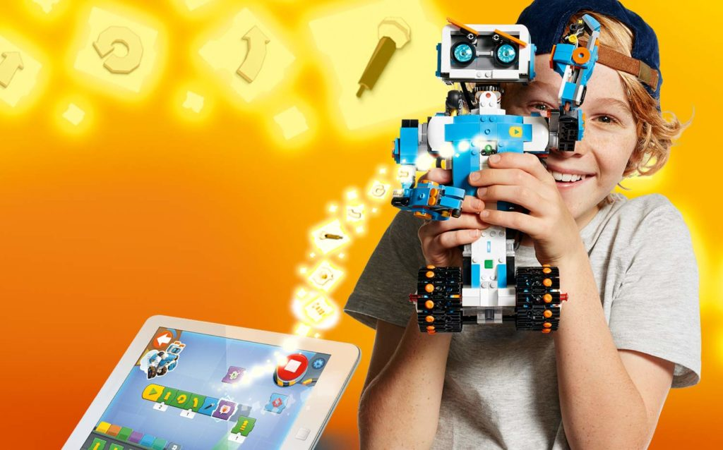 Coding per bambini-Lego Boost